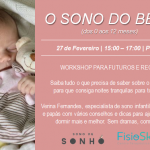"Workshop ""o sono do bebé"""