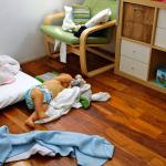 Problemas e desafios de um quarto montessoriano: o rola e rebola